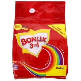 Bonux Color 3v1 prací prášek na barevné prádlo 20 dávek 1,5 kg