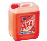 Ajax Floral Fiesta Red Flowers univerzálny čistiaci prostriedok 5 l