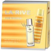 La Rive for Woman toaletná voda pre ženy 90 ml + dezodorant sprej 150 ml, darčeková sada