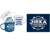 Albi Plechový hrnek se jménem Jirka 500 ml