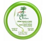 Le Petit Olivier Olivový olej ultra vyživující pleťový a tělový krém 125 ml