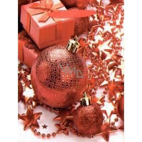 Nekupto Darčeková papierová taška strednej 23 x 18 x 10 cm Vianočný 1460 30 WBM