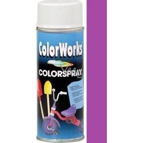 Color Works Colorspray 918507 fialový alkydový lak 400 ml