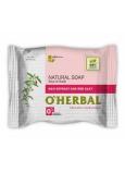 O Herbal Natural Goji a červená hlina prírodné toaletné mydlo 100 g