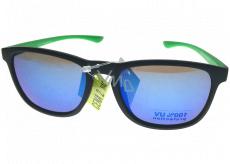 Nac New Age Sluneční brýle zelené stranice Z211P