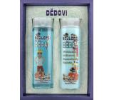 Bohemia Gifts Najlepšie dedo sprchový gél 200 ml + šampón na vlasy 200 ml, kozmetická sada