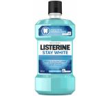 Listerine Stay White Arctic Mint ústna voda pre biele zuby 500 ml