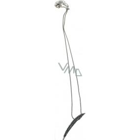 Bižutéria Náhrdelník strieborný s príveskom 42 cm