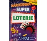 Nekupto Stieracie prianie k narodeninám Super lotérie 21,5 x 13,5 cm G 31 3347