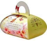 English Soap White Jasmine & Sandalwood Přírodní parfémované mýdlo s bambuckým máslem 260g