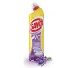 Savo Levanduľa WC gel čistiaci prípravok na toalety 750 ml