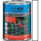 Colorlak Synorex Primer S 2000 syntetická antikorózna základná farba Biela 0,6 l