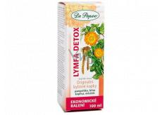 Dr. Popov Lymfa Detox originálne bylinné kvapky obsahujú tradične používané byliny s detoxikačnými účinkami 100 ml
