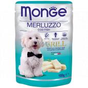 Monge Dog Grill treska kapsička 100 g