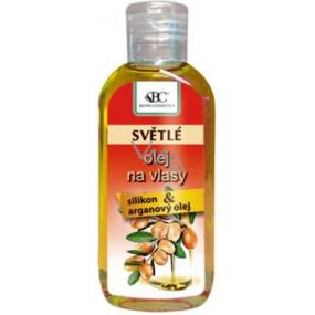 Bione Cosmetics Arganový olej se silikonem na světlé vlasy 80 ml