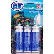 Air Menline Aqua World Happy Osvěžovač vzduchu náhradní náplně 3 x 15 ml sprej