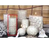 Lima Nevada sviečka slonová kosť valec 60 x 120 mm 1 kus
