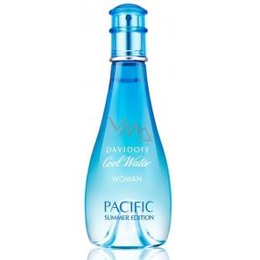 Davidoff Cool Water Woman Pacific Summer Edition toaletní voda pro ženy 100 ml Tester