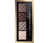Max Factor Smokey Eye Matte Drama Kit paletka očních stínů 30 Smokey Onyx 1,8 g