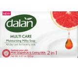 Dalan Multi Care Pink Grapefruit & Caring Milk toaletné mydlo 90 g
