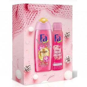 Fa Magic Oil Pink Jasmine sprchový gél 250 ml + dezodorant sprej 150 ml, kozmetická sada