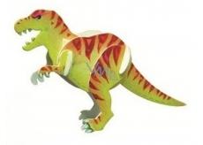 Dřevěné puzzle dinosauři 3 Tyranosaurus 20 x 15 cm