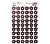 Arch Holografické dekorační samolepky květiny růžové 415