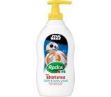 Radox Kids Star Wars sprchový gél a pena pre deti dávkovač 400 ml