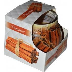 Admit Cinnamon dekorativní aromatická svíčka ve skle 80 g