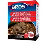 Bros Na myši a potkany mäkká návnada 150 g