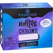 Essence Melted Chrome Nail Powder pigment na nehty 01 Purple Fiction 1 g