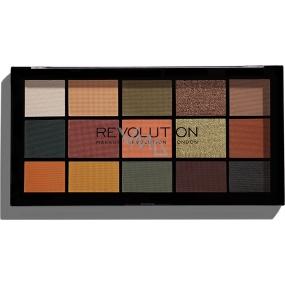 Makeup Revolution Re-Loaded paletka očných tieňov Iconic Division 15 x 1,1 g