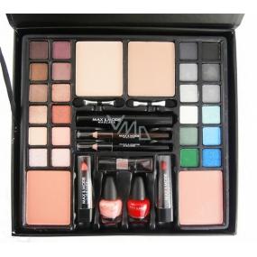 Max & More Make up kozmetická kazeta 39 kusov kozmetických produktov