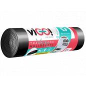 VIGO! Vrecia na odpad čierne, 24 μ, 60 litrov 60 x 70 cm 10 kusov