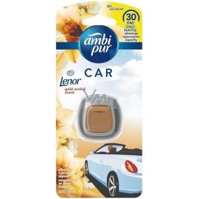 Ambi Pur Car Lenor Gold Orchid - Zlatá orchidea osviežovač vzduchu do auta 2 ml