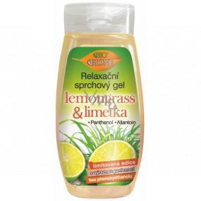 Bion Cosmetics Lemongrass & Limetka relaxačný sprchový gél 250 ml