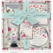 Baylis & Harding Kráľovská záhrada sprchový a kúpeľový krém 130 ml + mydlo 150 g + telové maslo 100 ml, kozmetická sada
