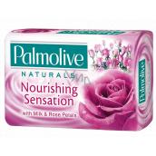 Palmolive Naturals Milk & Rose tuhé toaletné mydlo 90 g