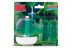 Dr. Devil Natur Fresh 3v1 Wc tekutý záves 3 x 55 ml