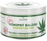 Alpa Konopný s mentolem masážní balzám 250 ml