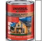 Colorlak Univerzal SU2013 syntetická lesklá vrchní barva Bílá matná 0,6 l