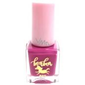 Dor Cosmetics BonBon na vodnej báze lak na nechty pre deti 02 fialová 5 ml