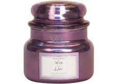 Village Candle Divoký šeřík - Wild Lilac vonná svíčka ve skle 2 knoty 262 g