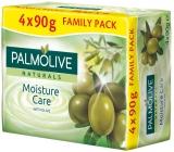 Palmolive Naturals Olive Milk tuhé toaletné mydlo 3 + 1 kus 90 g