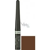 Miss Sporty Studio Lash tekuté očné linky 002 Dark chocolate 3 ml