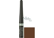 Miss Sporty Studio Lash Eyeliner tekuté oční linky 002 Dark chocolate 3 ml