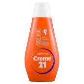 Creme 21 Mandľový olej a vitamín E pre telové mlieko suchú pleť 400 ml