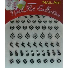 Absolute Cosmetics Nail Art samolepiace nálepky na nechty 3DS20B 1 aršík
