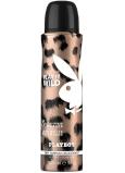 Playboy Play It Wild for Her dezodorant sprej pre ženy 150 ml
