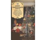 Albi Rodinný vianočný stromček metalický